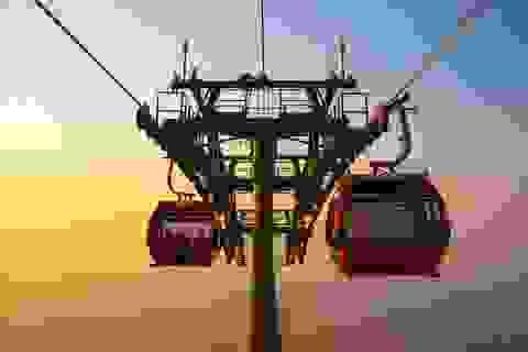 Sun Group khai trương hệ thống cáp treo mới tại Núi Bà Đen