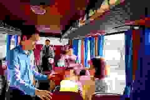 Đà Nẵng: Chuyến xe công đoàn đưa hàng ngàn công nhân về quê ăn Tết