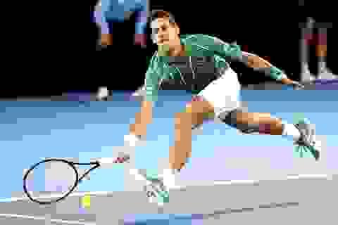 Australian Open: Djokovic, Federer khởi đầu suôn sẻ ở trận ra quân