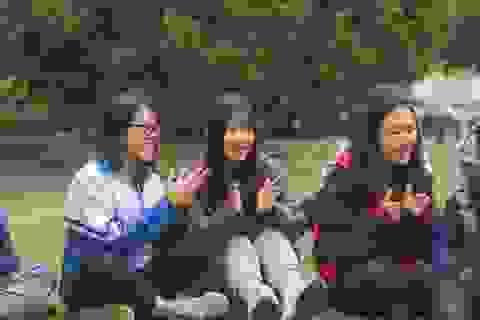 Học sinh cấp 3 chuyên Sư phạm góp Xuân ấm giúp trẻ em khó khăn