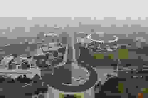 Tháo dỡ rào chắn đường đua F1, đường Lê Quang Đạo thông thoáng