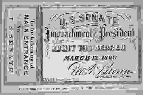 Xem luận tội tổng thống: Tấm vé từng được săn lùng nhất nước Mỹ