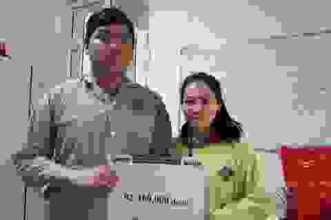 Cậu học trò nghèo nhiều lần bỏ viện được bạn đọc giúp đỡ hơn 92 triệu đồng