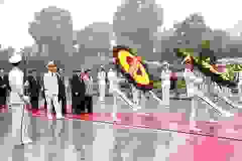 Lãnh đạo Đảng, Nhà nước vào Lăng viếng Chủ tịch Hồ Chí Minh nhân dịp Tết Canh Tý