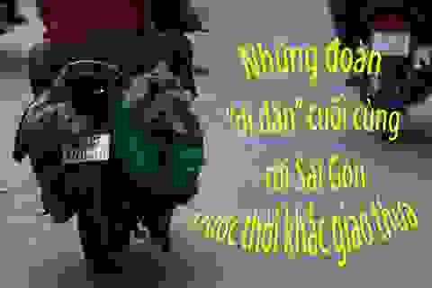 """Những đoàn """"di dân"""" cuối cùng rời Sài Gòn trước thời khắc Giao thừa"""