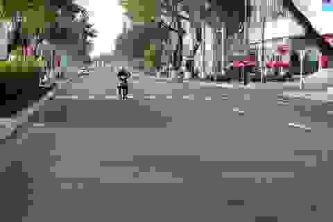 """Đường phố Đà Nẵng """"dịu dàng"""" sáng mùng 1 Tết"""
