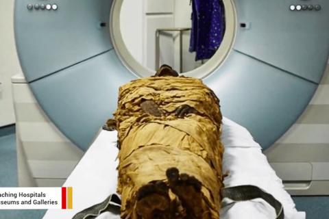 Tái tạo âm thanh của xác ướp 3000 năm tuổi