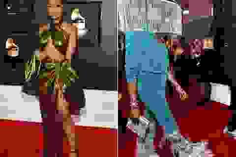 """Những bộ cánh """"thảm họa"""" trên thảm đỏ Grammy 2020"""