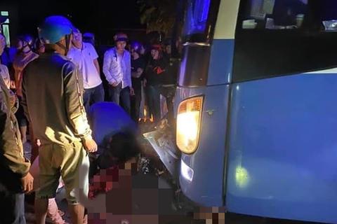 3 thanh niên tử nạn trong vụ xe máy tông xe khách
