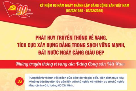 TƯ Đoàn giới thiệu infographic về 90 năm lịch sử Đảng Cộng sản Việt Nam