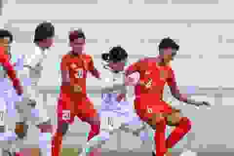Đội tuyển nữ Việt Nam - Myanmar: Thắng để giành quyền đi tiếp
