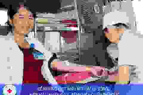 Sắp hết nguồn máu dự trữ giữa mùa dịch corona