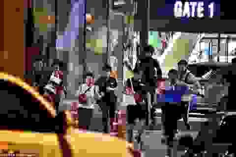 Đặc nhiệm Thái Lan giải cứu con tin, truy bắt nghi phạm đang cố thủ