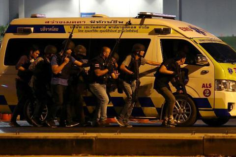 Đêm thảm sát kinh hoàng trong trung tâm thương mại ở Thái Lan