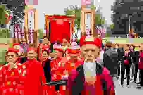 Tục khao lão có một không hai ở ngôi làng cổ nhất nhì Nam Định