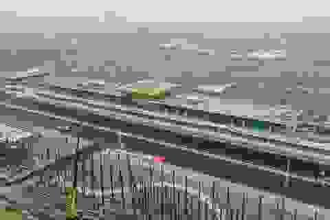 Đường đua Hà Nội sắp hoàn thiện, sẵn sàng chờ dàn siêu sao F1 tranh tài