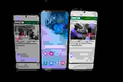 Cận cảnh bộ 3 smartphone Galaxy S20: Nâng cấp ấn tượng về camera