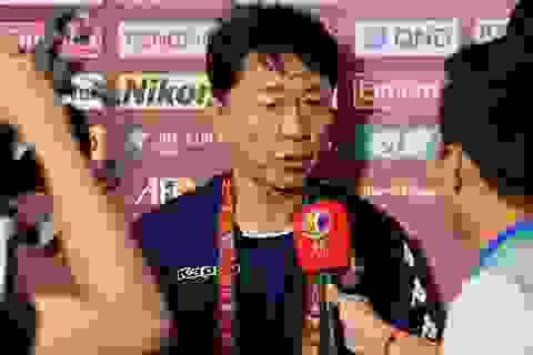 HLV Chung Hae Seong nói gì về màn trình diễn của Công Phượng và đồng đội?