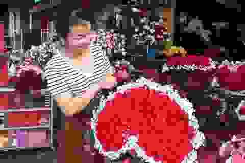 Lo sợ virus Corona, các shop hoa giảm nhập hồng ngoại
