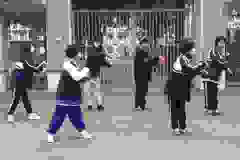 """Học sinh Hà Nội nhảy điệu """"rửa tay"""" tuyên truyền vệ sinh phòng Covid-19"""