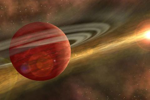 """Khám phá ra hành tinh """"sơ sinh"""" khổng lồ gần Trái đất"""