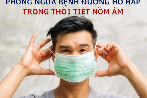 Trời nồm ẩm tăng nguy cơ mắc bệnh đường hô hấp: Làm gì để bảo vệ bản thân?
