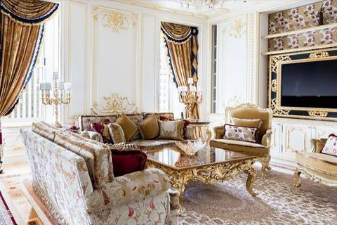 Lóa mắt căn hộ dát vàng xa xỉ, giá hàng ngàn tỷ đồng của tỷ phú người Nga