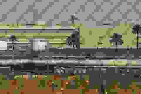 Căn cứ quân sự nằm gần đại sứ quán Mỹ ở Iraq bị tấn công