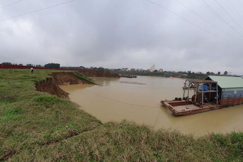 Lùm xùm dự án khai thác khoáng sản ven sông Cầu tại Bắc Giang