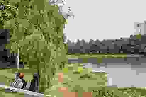 Nhảy xuống hồ nước trong công viên, 2 người chết đuối