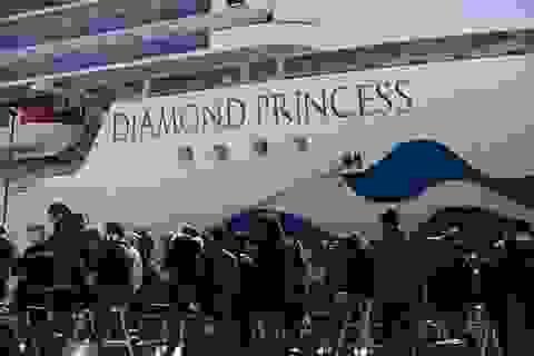 Mỹ đưa 14 người nhiễm virus corona trên du thuyền ở Nhật Bản về nước