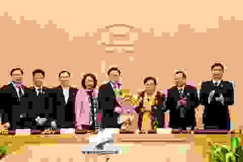 Ông Vương Đình Huệ được bầu làm Trưởng đoàn đại biểu Quốc hội Hà Nội
