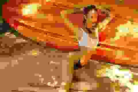 "Candice Swanepoel lại khoe ảnh ""hot"""