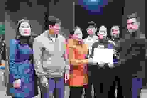 Trao hơn 87 triệu đồng bạn đọc giúp đỡ 2 hoàn cảnh éo le ở Nghệ An