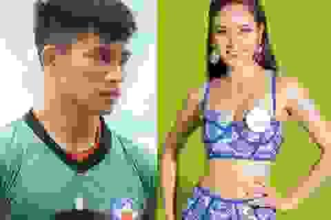 Thủ môn Phan Văn Biểu khoe bạn gái từng lọt Chung kết Miss World VN