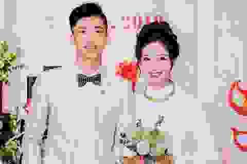 Vợ mới cưới của cầu thủ Phan Văn Đức tiết lộ đang xây nhà ở Vinh