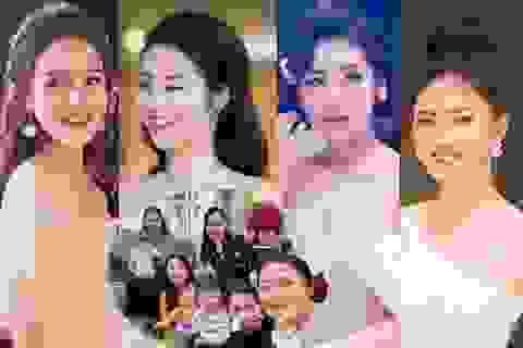 Hội bạn thân toàn mỹ nhân của Hoa hậu Ngọc Hân đều đã yên bề gia thất