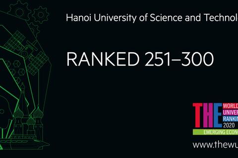Bách khoa HN vào top 300 ĐH tốt nhất tại các nước có nền kinh tế mới nổi
