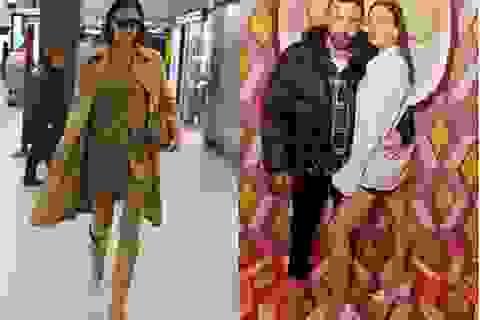 """Irina Shayk nổi bật tại sân bay với """"cây"""" đồ hiệu"""