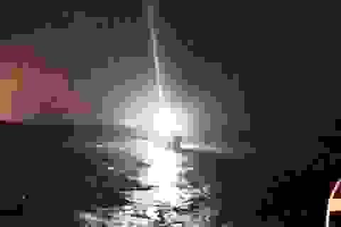 Nửa đêm phát hiện thuyền viên mất tích trên biển