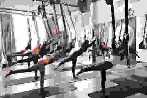 Aerial Yoga bộ môn của những cô nàng yêu cái đẹp