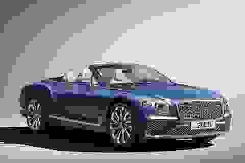 Bentley Continental GT Mulliner Convertible gây chú ý bằng sự cầu kỳ