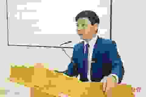 Phó Tổng Biên tập Báo Hà Tĩnh được bổ nhiệm làm Giám đốc Sở TT&TT
