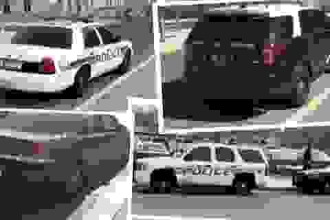 Chụp ảnh hàng trăm ảnh xe cảnh sát đỗ xe sai luật để... đòi lại công bằng