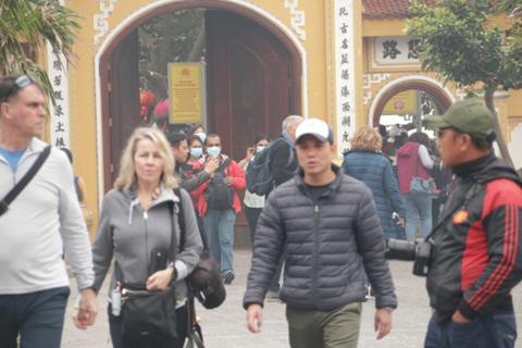 Hơn 1,3 triệu khách du lịch đến Hà Nội trong tháng 2