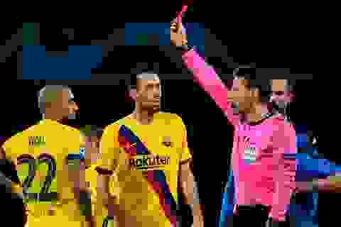 Barcelona chịu tổn thất lớn sau trận hòa thất vọng trước Napoli