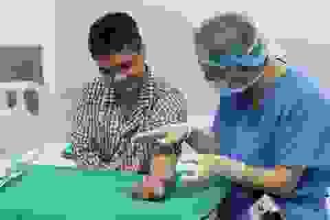 Hy vọng thắp lên từ ca ghép chi thể từ người cho sống đầu tiên ở Việt Nam