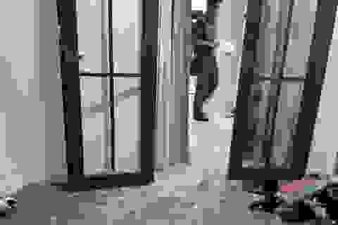 Nhà riêng chủ tịch công ty bất động sản bị đập phá