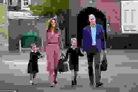 Hai con của Hoàng tử William nghỉ học phòng dịch Covid-19