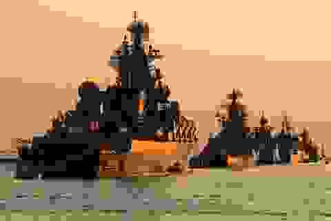 """Nga điều 2 tàu chiến tên lửa tới Syria giữa lúc Idlib """"căng như dây đàn"""""""